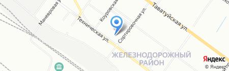 Спасатель на карте Екатеринбурга