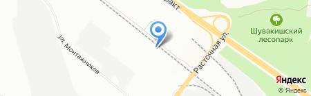 Азия Авто на карте Екатеринбурга