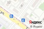 Схема проезда до компании Окуляр в Екатеринбурге