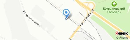 ДОРСИНТЕК на карте Екатеринбурга