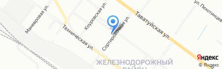 Почтовое отделение №90 на карте Екатеринбурга