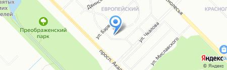 ПРЕМЬЕР на карте Екатеринбурга