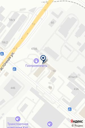 На Монтажников на карте Екатеринбурга