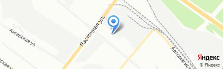 Альянс-Авто на карте Екатеринбурга
