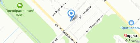 Гранд Паркет на карте Екатеринбурга