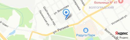 Prirodaural.ru на карте Екатеринбурга