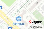 Схема проезда до компании Магнит в Екатеринбурге