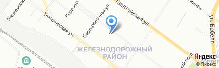 Детский сад №351 на карте Екатеринбурга