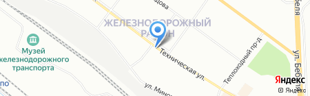 Евросеть на карте Екатеринбурга