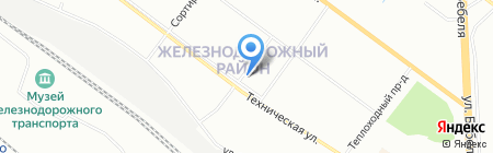 Мясная лавка на карте Екатеринбурга