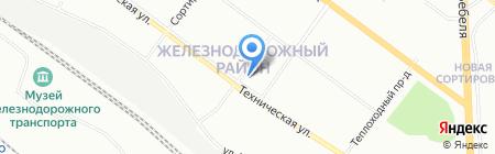 Киоск по продаже яиц на карте Екатеринбурга