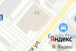 Схема проезда до компании УАЗ на Маневровой в Екатеринбурге