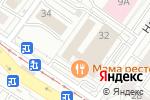 Схема проезда до компании Четыре Стихии в Екатеринбурге
