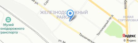 ЭОС на карте Екатеринбурга