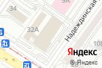 Схема проезда до компании Триликс в Екатеринбурге