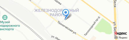 ИНВИТРО на карте Екатеринбурга