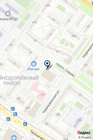 Дельфин на карте Екатеринбурга