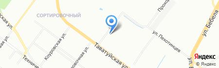 Мраморикс на карте Екатеринбурга