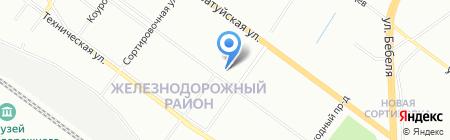 Яранга на карте Екатеринбурга