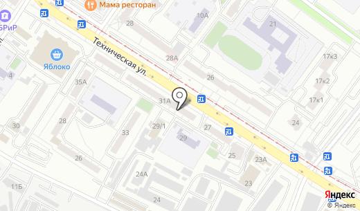 Пальмира. Схема проезда в Екатеринбурге