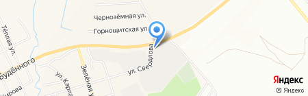 Городок на карте Екатеринбурга