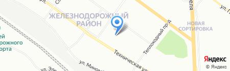 Детский сад №245 на карте Екатеринбурга