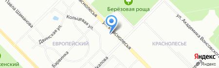Цветочная полянка на карте Екатеринбурга