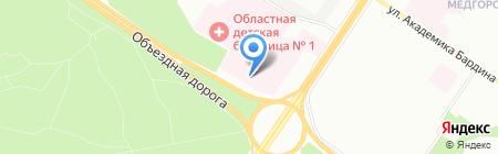 Банкомат Екатеринбургский муниципальный банк на карте Екатеринбурга