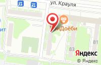 Схема проезда до компании Восток в Екатеринбурге