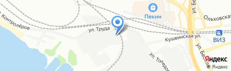 ISKRATRADE.RU на карте Екатеринбурга
