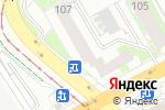 Схема проезда до компании Крепеж-Сити в Екатеринбурге