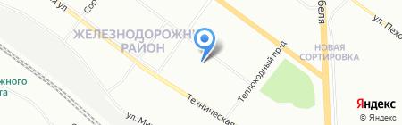 Банкомат Уральский банк Сбербанка России на карте Екатеринбурга