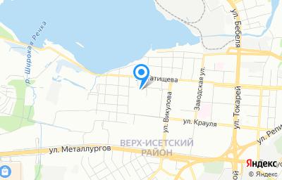 Местоположение на карте пункта техосмотра по адресу г Екатеринбург, ул Рабочих, д 9, кв 12