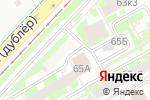 Схема проезда до компании Почтовое отделение №43 в Екатеринбурге