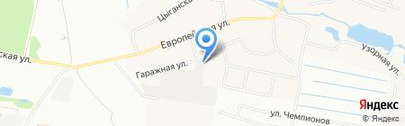 Сервис Комплект Строй на карте Екатеринбурга
