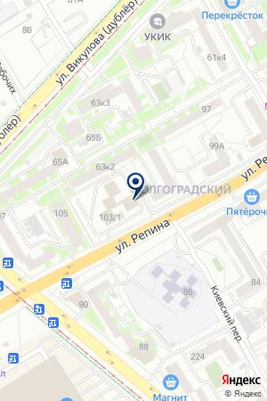 Василиса на карте Екатеринбурга