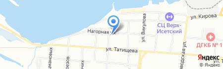 Ксил-Балтэкс на карте Екатеринбурга