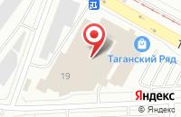 Схема проезда до компании Три Д в Екатеринбурге