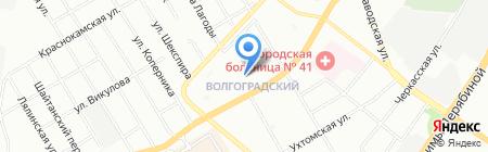Сова на карте Екатеринбурга