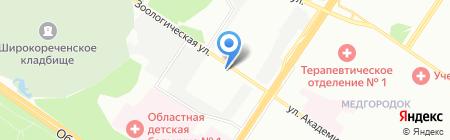 ЭлектроСтройСити на карте Екатеринбурга
