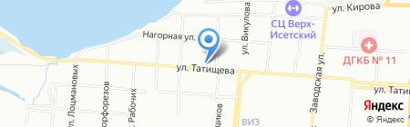 Техаэровент на карте Екатеринбурга