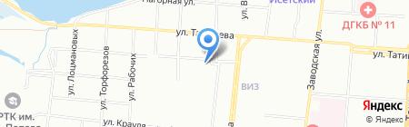 ОИР на карте Екатеринбурга