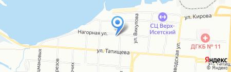 Авиаремзапчасть-Екатеринбург на карте Екатеринбурга