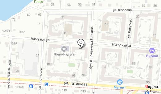 Комитет защиты прав потребителей. Схема проезда в Екатеринбурге