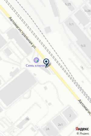 УзДЭУ Екатеринбург на карте Екатеринбурга