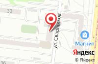 Схема проезда до компании Авидас в Екатеринбурге
