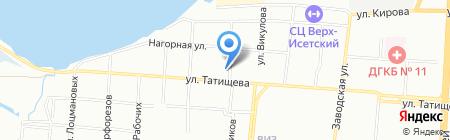 Мастер-Сантехник на карте Екатеринбурга