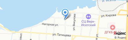 Автомедонт на карте Екатеринбурга