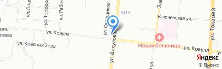 Золотой на карте Екатеринбурга