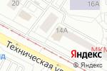 Схема проезда до компании Счастливое платье в Екатеринбурге